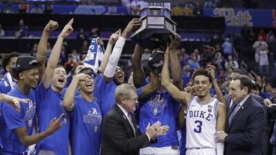 'March Madness': el frenético camino al título del baloncesto de la NCAA