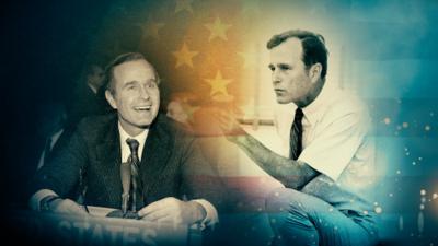 Figura de George H.W. Bush marca un abismo de contrastes con el actual régimen