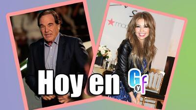 Oliver Stone y Thalía están entre lo mejor del miércoles 9 de marzo
