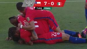 Fútbol retro | El día que Chile humilló al Tri de Juan Carlos Osorio