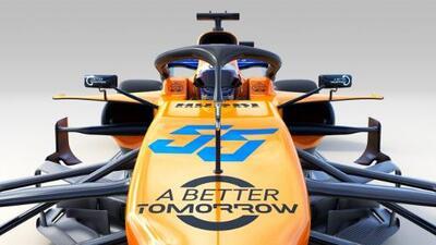 McLaren presentó el MCL34, su primer auto después de la 'era Alonso'
