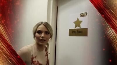 Los secretos de Irina Baeva en su camerino de Mira Quién Baila (¡OMG!)