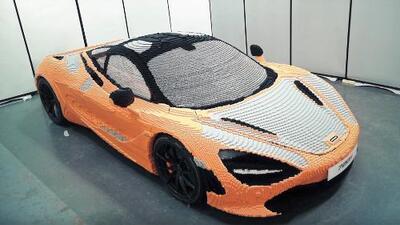 En Video: construyen un McLaren 720S en tamaño real con LEGOs