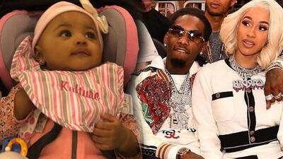 """Cardi B dice que a su bebé le huelen mal los pies porque es algo que heredó """"del papá"""""""