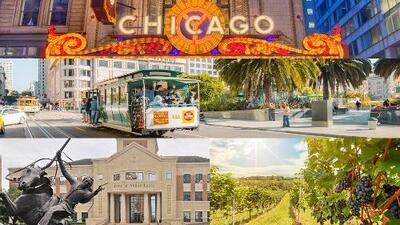 Conoce las ciudades más románticas de Estados Unidos