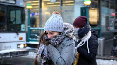 Frío glacial y ventiscas peligrosas: Esto es lo que dejará el fin de semana la 'bomba meteorológica' en EEUU