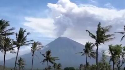 El impresionante timelapse que muestra la erupción de un volcán