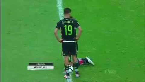 Highlights:El Salvador at México on November 13, 2015