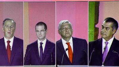 ¿Cómo enfrentarían los candidatos a la Presidencia de México la relación con EEUU? Así responden en el segundo debate