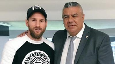 ¿Regresa Messi a la albiceleste? Presidente de la federación argentina se reúne con el '10'