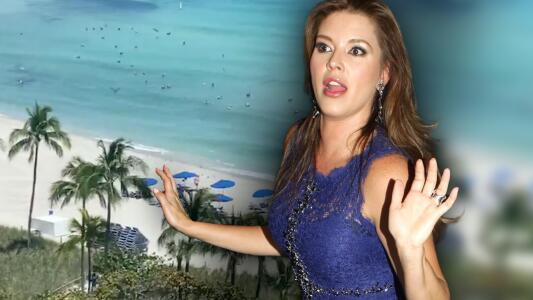 """Alicia Machado denuncia que hay """"millones de pelícanos"""" impidiendo bañarse en playa de Miami"""