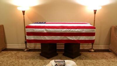 President George H.W. Bush service dog very loyal
