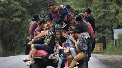 Caravana de migrantes llega a Ciudad de Guatemala donde retomará fuerzas para continuar su recorrido a EEUU