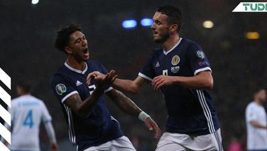 Escocia vence en suelo chipriota