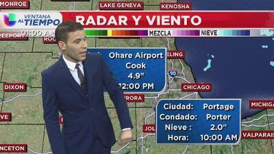 Ventana al tiempo: Amanecemos a 13 grados Fahrenheit en Chicago con vientos débiles