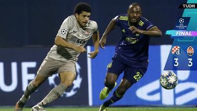 Shakhtar le empata al Dinamo y sigue con vida en Champions