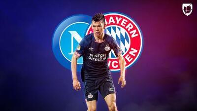 ¿Mal tercio? Bayern Munich ya puja por 'Chucky' Lozano y lo aleja del Napoli