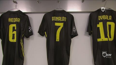 Lista la playera de Cristiano: ¿veremos de nuevo un hat-trick del #7 ante el Ajax?