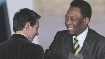 Messi agradeció a Pelé su mensaje tras igualar su marca histórica