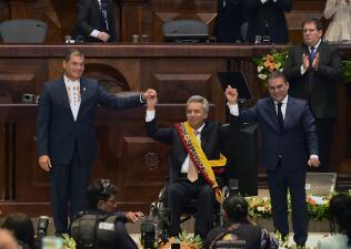 Lenín Moreno, el primer presidente en silla de ruedas de América Latina