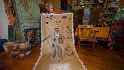 Artista de El Bronx resalta el valor de Harriet Tubman