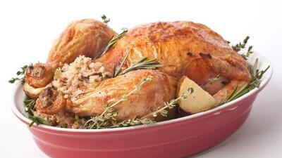 ¿Cuánto debe pesar el pavo para una cena de Thanksgiving?