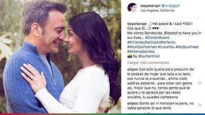 """""""Es una crueldad dejar a alguien por una enfermedad"""": El Feo opina sobre el rompimiento de Dayanara Torres con su prometido"""