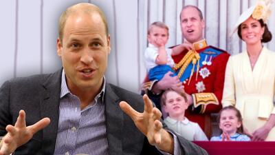 El príncipe William dice que apoyaría a un hijo gay, pero admite que hay algo que le preocupa