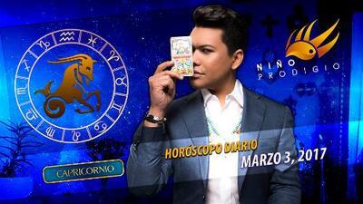 Niño Prodigio - Capricornio 3 de marzo, 2017