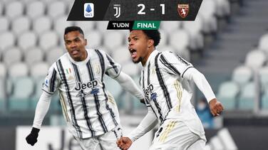 Juventus gana el Derbi de Turín con goles de McKennie y Bonucci