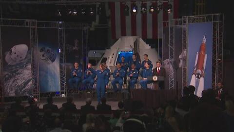 La NASA presentó a su nuevo grupo de astronautas para futuras misiones en el espacio