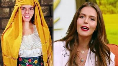 La simpática reacción de Claudia Álvarez al ver esta foto de su casting para 'Simplemente María'