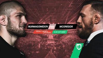 ¡Es un hecho! McGregor regresa a UFC ante Nurmagomedov
