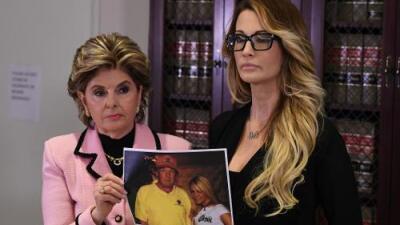 Otra actriz porno, que acusó a Trump de acoso, aparece en el acuerdo con Stormy Daniels