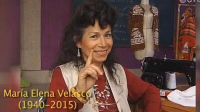Falleció María Elena Velasco, la India María