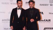 Ricky Martin llegó tomado de la mano de su novio Jwan Yosef