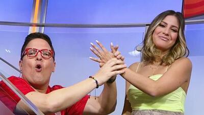 ¿Y ese anillo tan sospechoso? Raúl González hizo sonrojar a Jessi Rodríguez frente a las cámaras