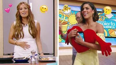 #DAEnUnMinuto: Francisca arrasó con este modelito amarillo y a Karla la consiente así su esposo