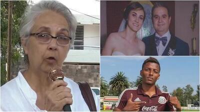 """""""Estoy muerta en vida"""", la madre de uno de los recién casados que murió tras chocar con el vehículo del futbolista Joao Maleck"""