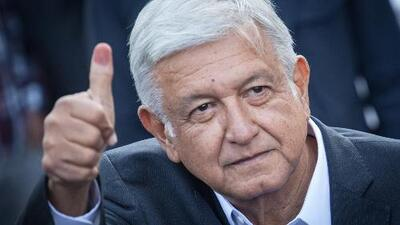 Andrés Manuel López Obrador, virtual ganador de las presidenciales en México