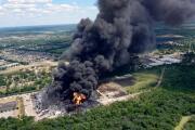 Incendio en la planta química Chemtool: ¿Perjudica a la calidad del aire de Chicago?