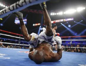 Las fotos del triunfo de Manny Pacquiao sobre Timothy Bradley.