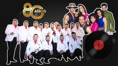 David Bisbal, Julio Preciado y Gerardo Ortiz harán dueto con El Recodo para celebrar su 80 aniversario