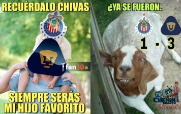 Los memes no perdonan a Chivas por su eliminación en Copa con miras al Clásico Nacional