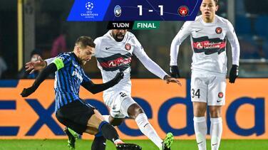 Midtjylland suma su primer punto en Champions ante Atalanta