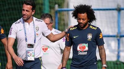 Brasil pierde a Marcelo, quien sigue lesionado y no jugará ante México