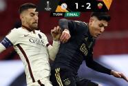 ¡Remontada! La Roma tomó ventaja al derrotar al Ajax en Ámsterdam