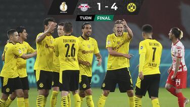Haaland consigue su primer título y Dortmund se adueña de la Pokal