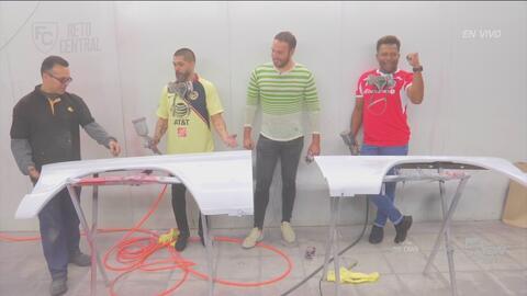 Reto Central: Reinaldo Navia y Carlos Pavón sacaron a la luz sus dotes automotrices