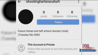 Amenazas de posibles tiroteos en escuelas se propagan en redes sociales